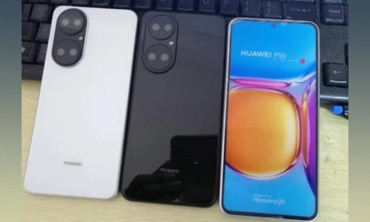 Huawei P50 live image