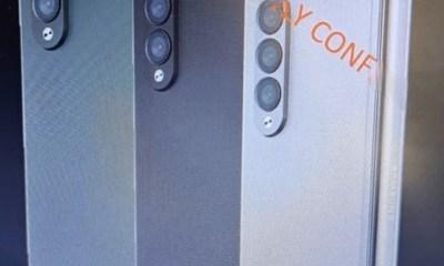 Samsung Galaxy Z Fold 3 leaks