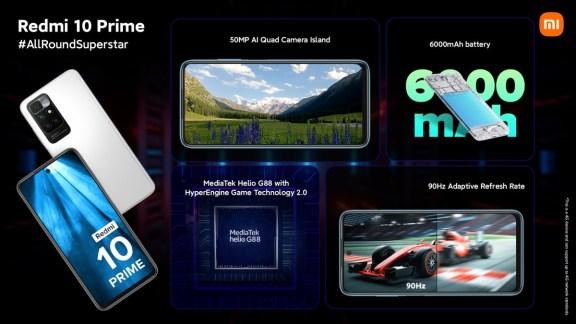 Redmi 10 Prime announced in India