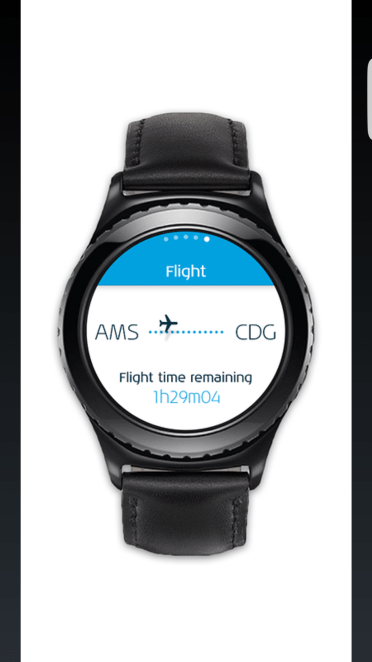 klm app for gear s2