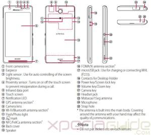 Download Xperia A SO04E User Manual Guide Pdf