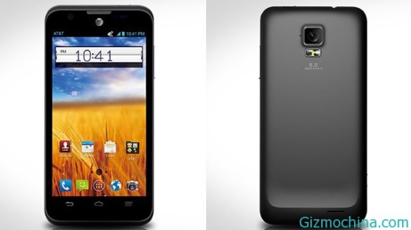 The Leaked picture of ZTE Mustang Z998 Gizmochina