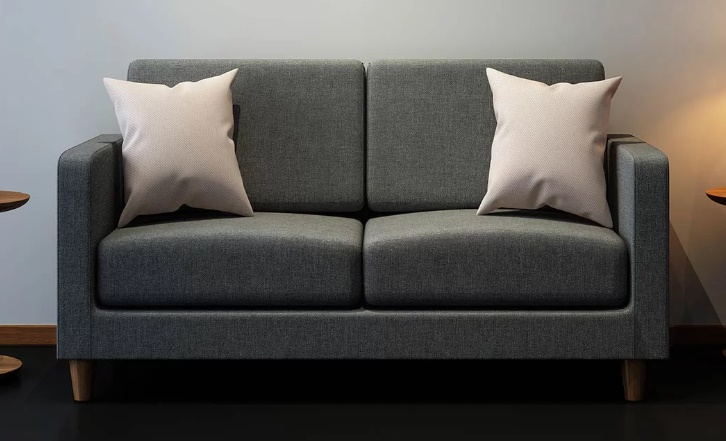 grey fabric sofa next feet wood the 8h pocket spring is mijia s new crowdfunding product lovseat