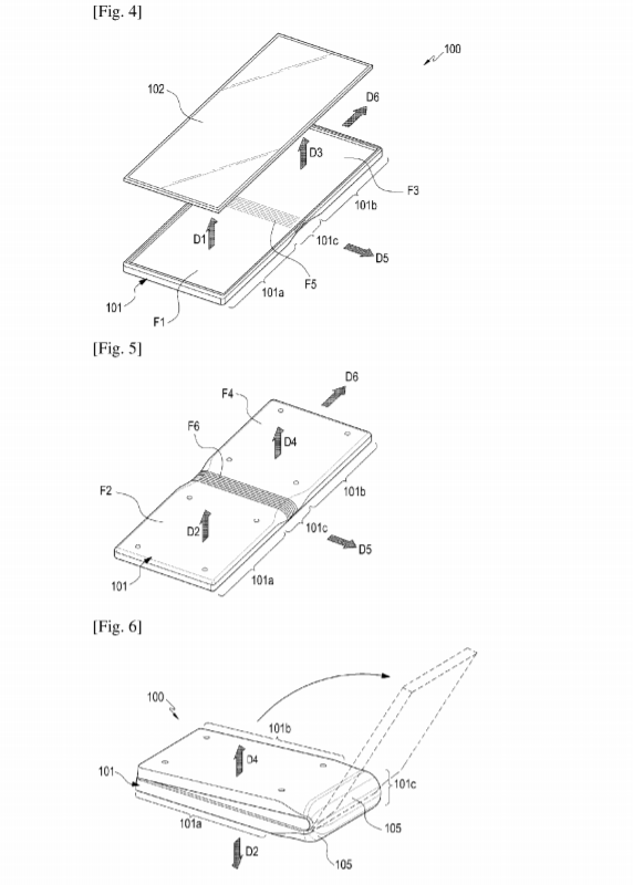 Samsung Patent Reveals Foldable Smartphone With New Hinge