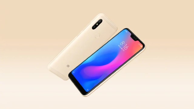 Redmi 6 Pro Official Render