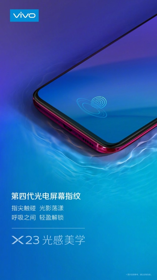 Vivo X23 Under-Display Fingerprint Sensor