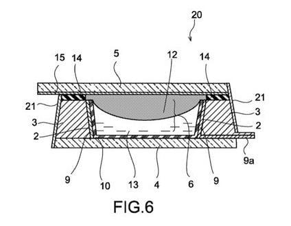 Huawei Liquid Lens Patent