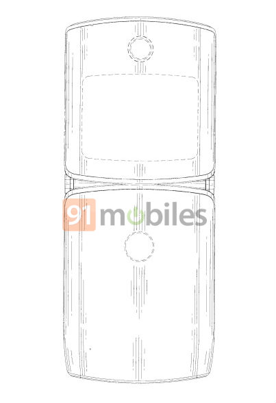 Motorola RAZR 2019 front, rear design seems to have leaked