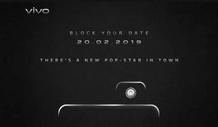 Vivo V15 Pro launch teaser