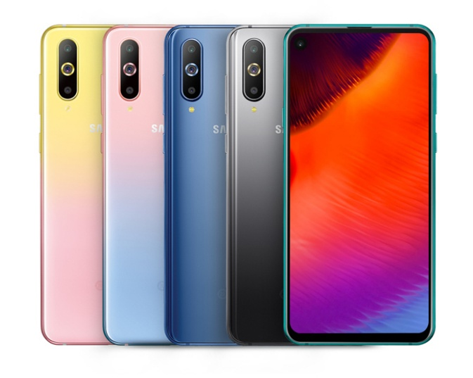 Samsung Galaxy A8s Unicorn Edition in two different color variants launched for 2799 Yuan (~$412) - Gizmochina