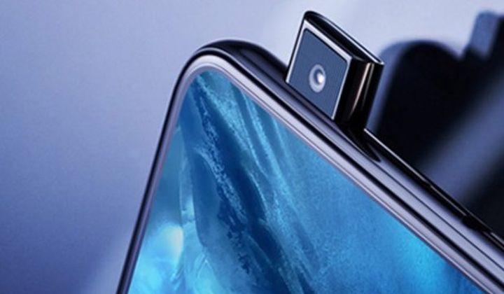 Vivo NEX pop-up selfie camera