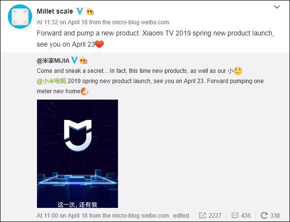 Xiaomi poderá lançar amanhã novo produto, juntamente à Mi TV 2