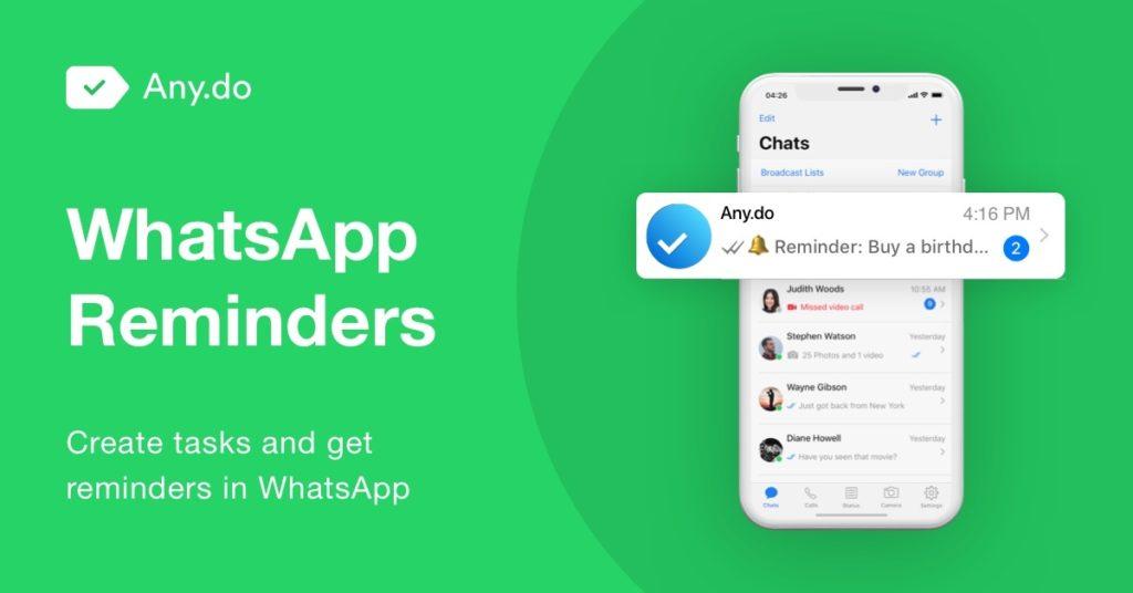 whatsapp any do