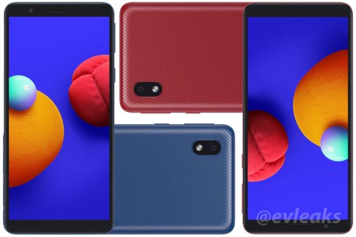 New Samsung Galaxy A01 Core leak reveals complete specs - Gizmochina