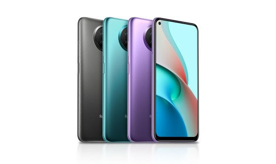 Redmi Note 9 5G All colors in the foreground