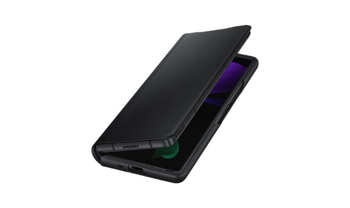 Samsung Galaxy Z Fold 2 Official Leather Case Black