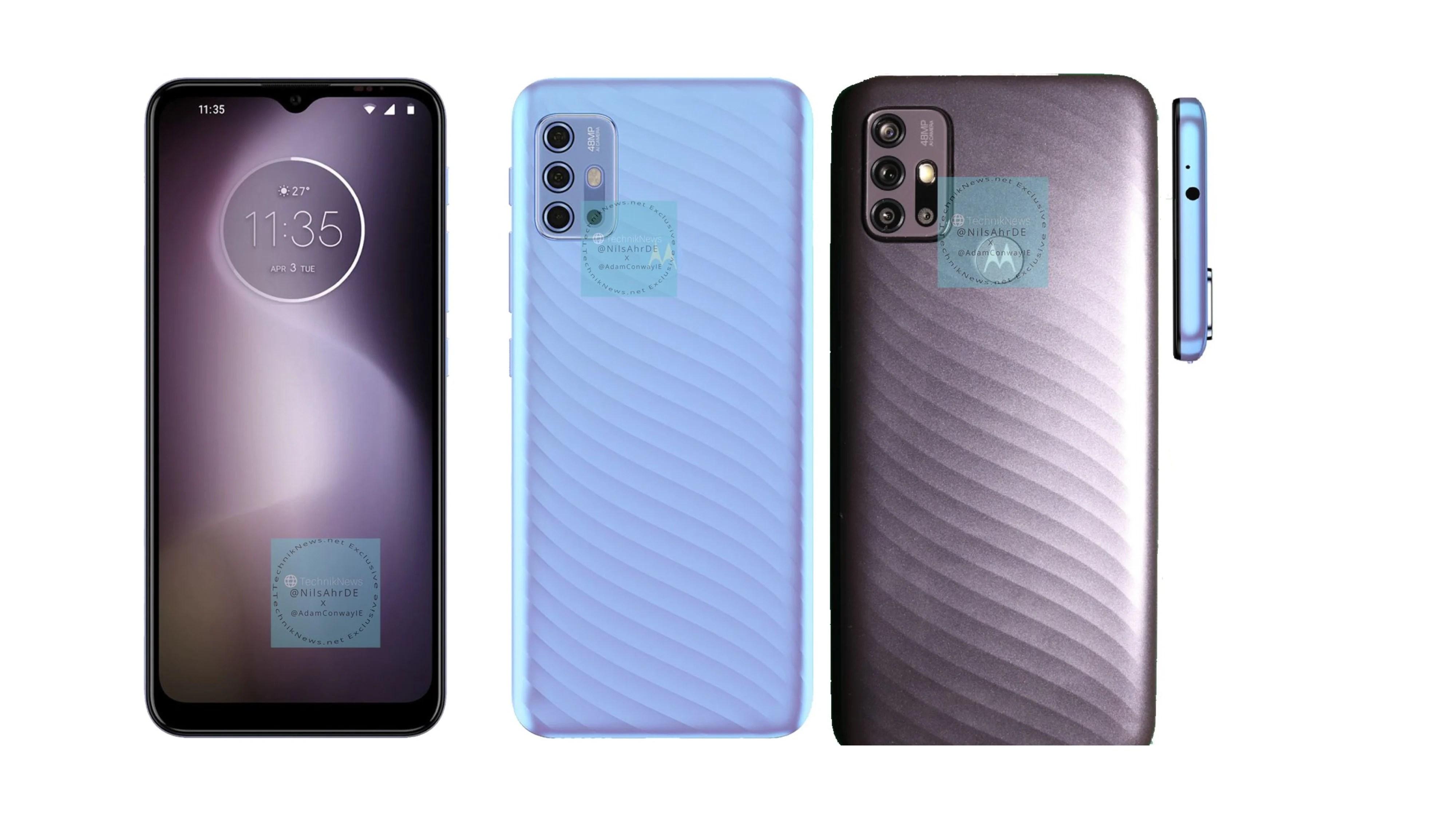 Motorola Moto G10 Renders Live Images Leak
