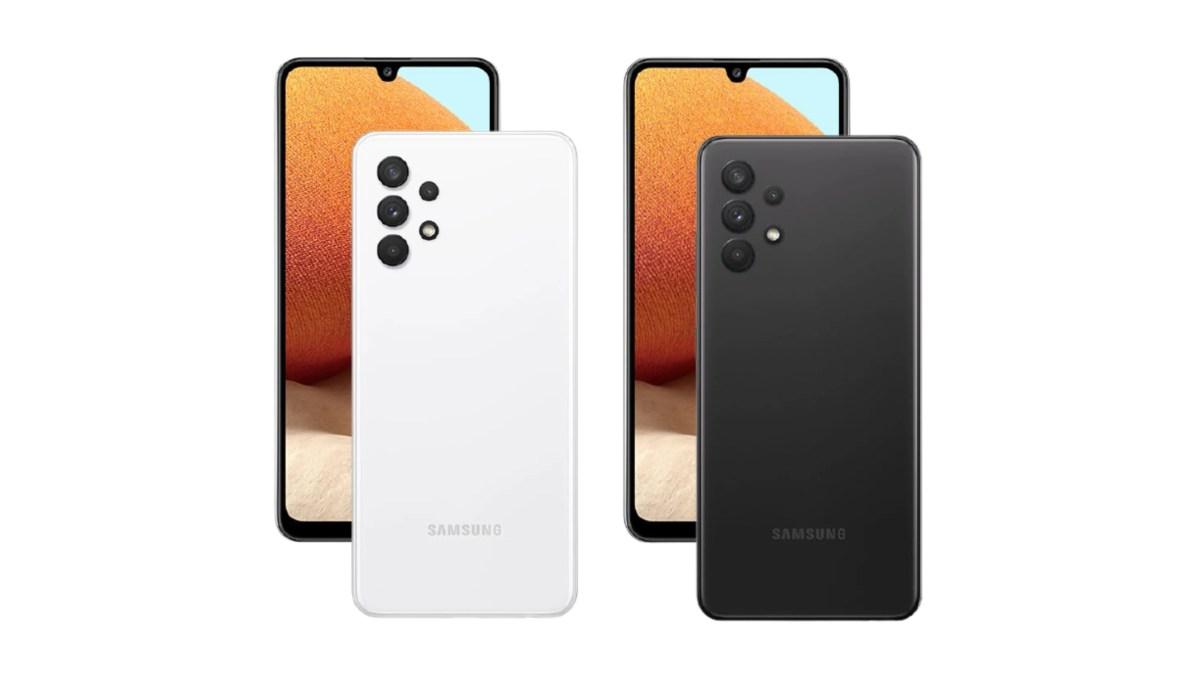 Samsung Galaxy A32 4G press renders suggest an AMOLED display - Gizmochina