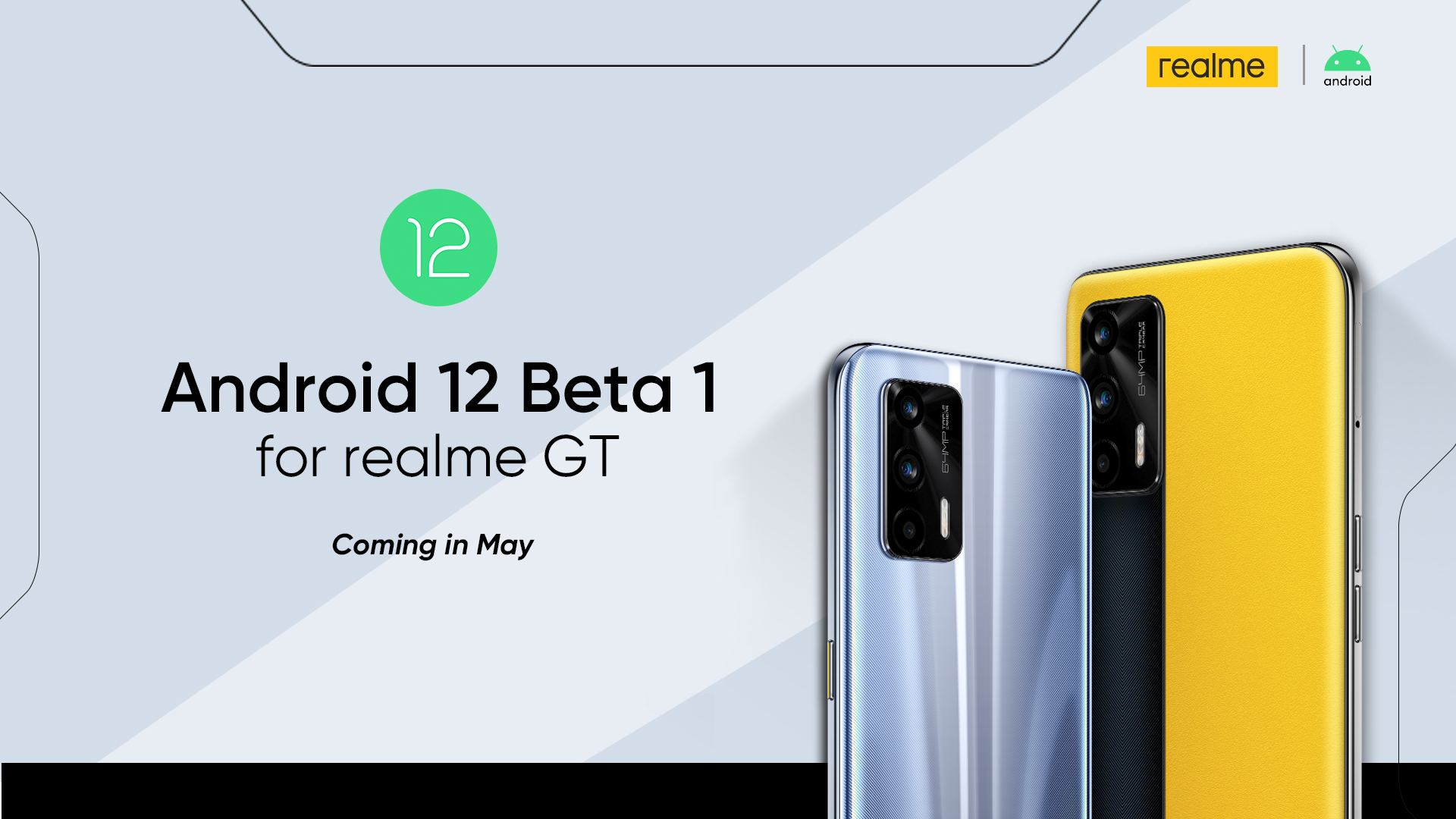 Realme GT Android 12 Beta