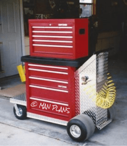 DIY Rolling Tool Cart