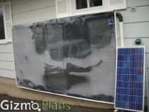 solar air heater plans