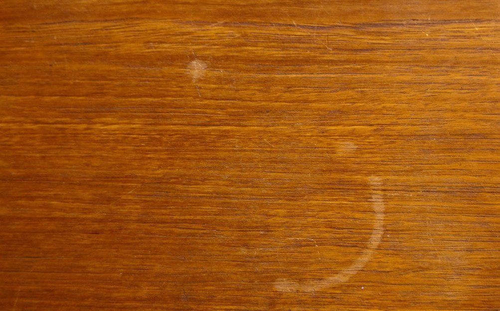 how to get water stains out of wood