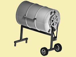 55 gallon drum bbq grill plans
