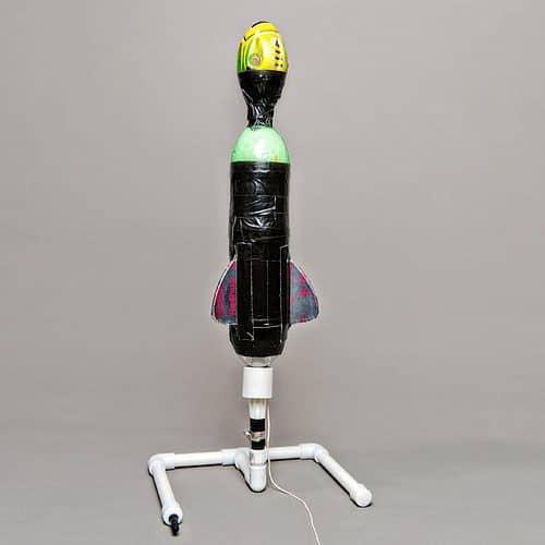 diy soda rocket thruster