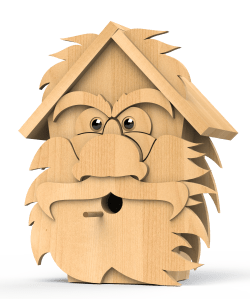 cedar men birdhouse plans