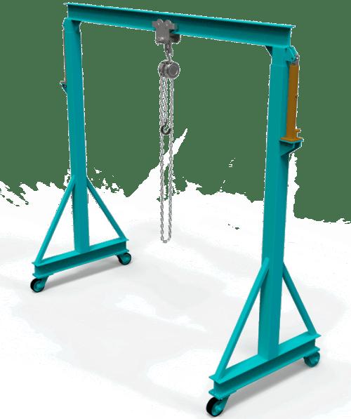 diy gantry crane plans