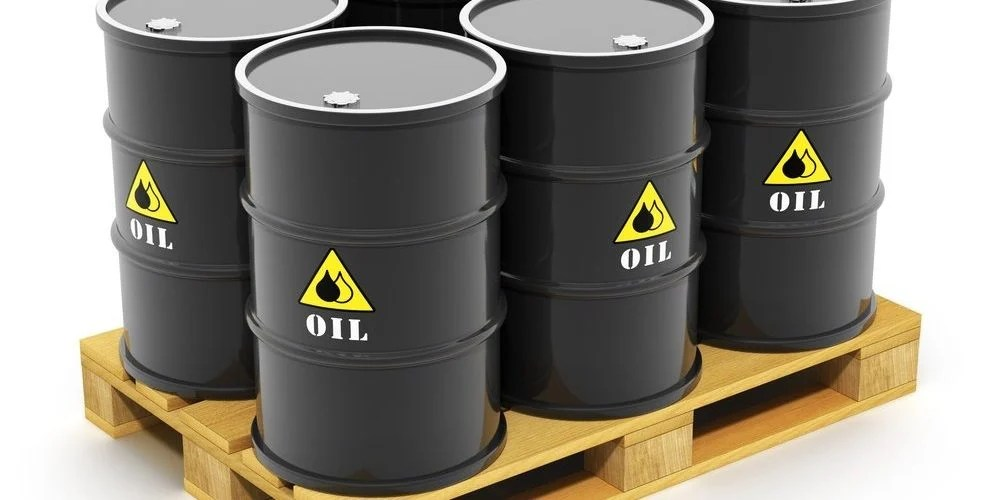 how much does a gallon of oil weigh