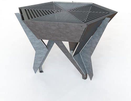 hexagon dxf cnc plasma table file