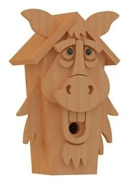 horse birdhouse plans