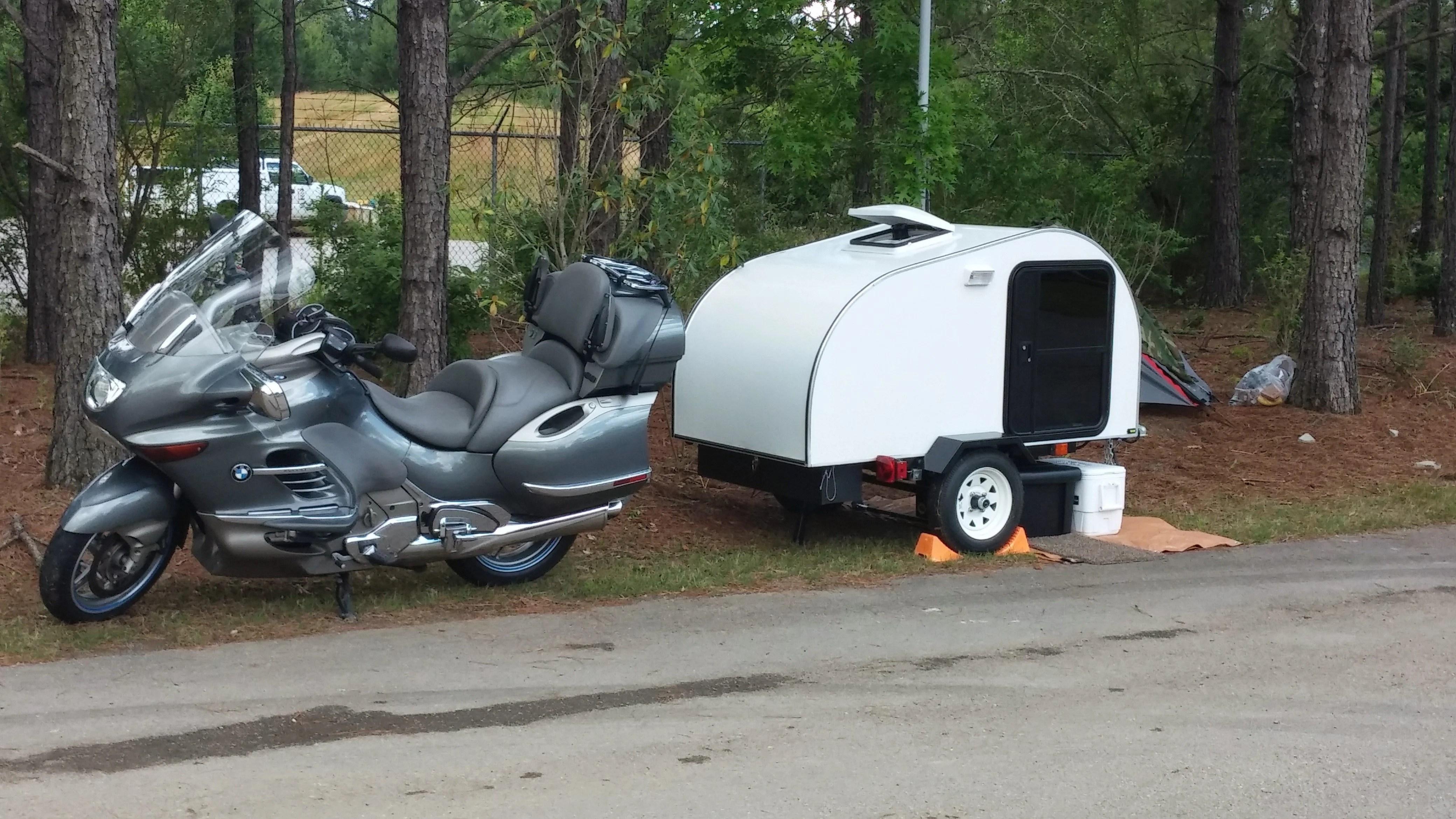 motorcycle camper trailer plans