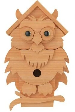 owl birdhouse plans