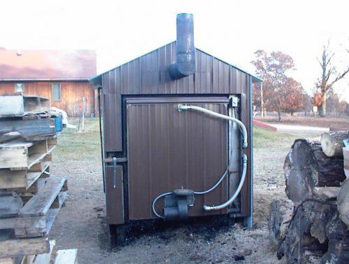 pallet fueled wood boiler plans