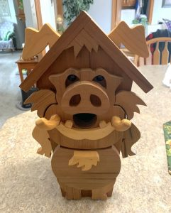 pig birdhouse woodcraft patterns