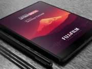 Fujifilm foldable smartphone Patent Render