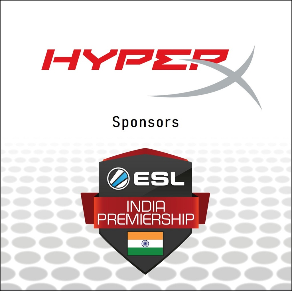 HyperX Partnered ESL India Premiership's Winter Season