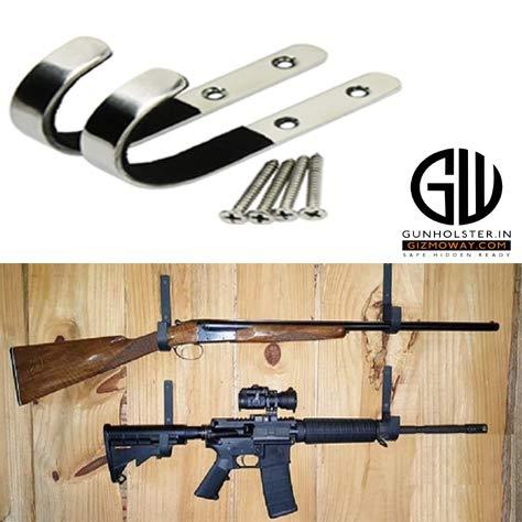 gun wall mount storage rack j hook rifle shot gun hangers