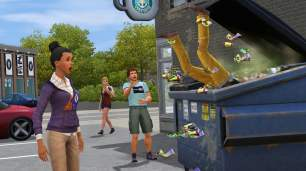 The Sims 3: University Life Dumpster Diving