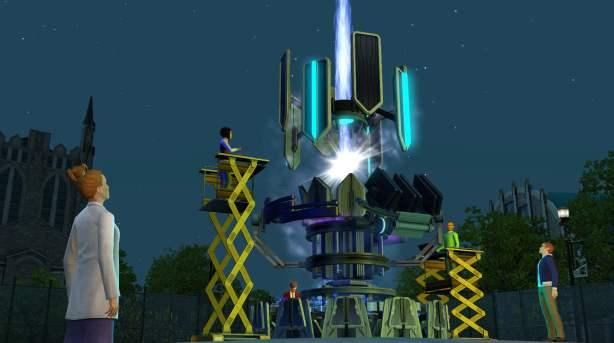 The Sims 3: University Life Science Major