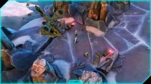Halo Spartan Assault Screenshot - Hornet Deployment