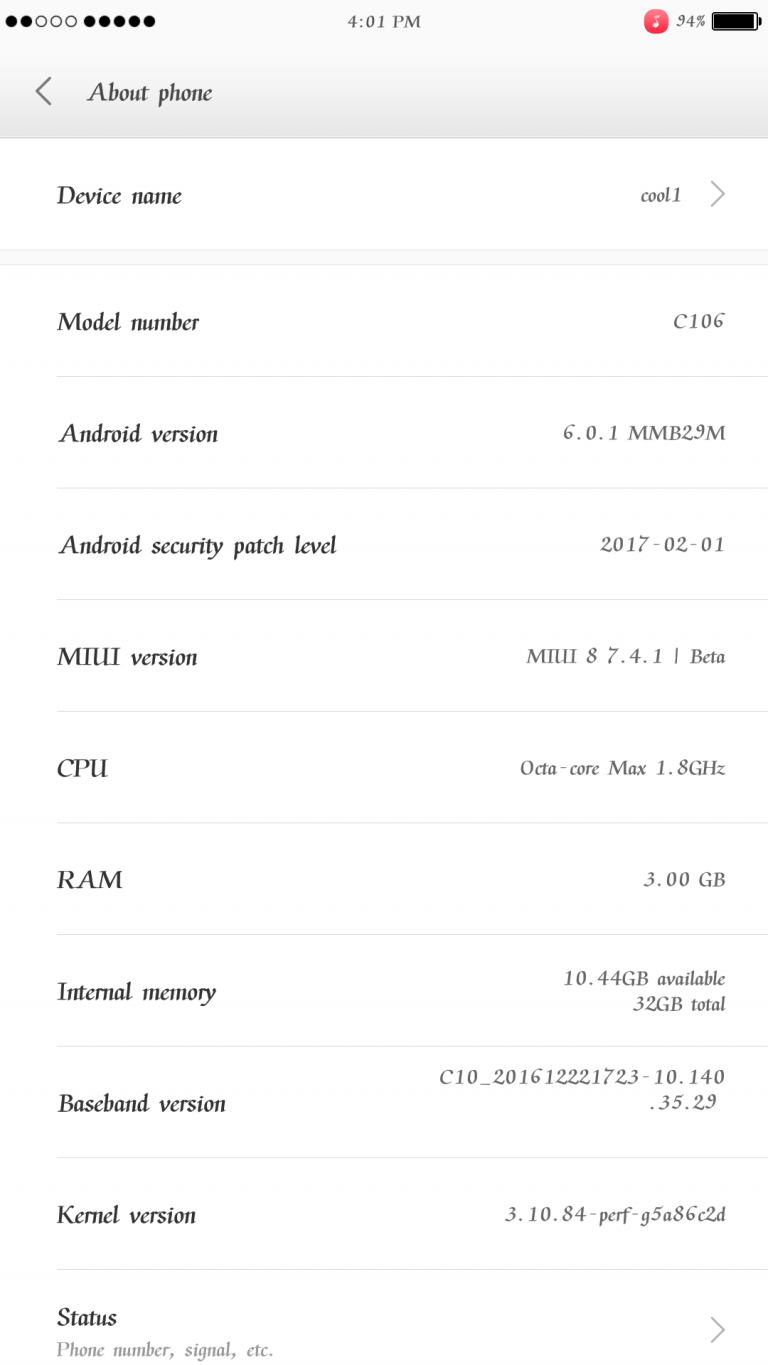 Guide To Install Android 6.0.1 Marshmallow MIUI 8 ROM For