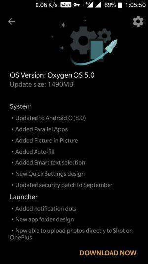 Oreo Beta OxygenOS 5.0 On OnePlus 3T And OnePlus 3 3 - Install Oreo Beta OxygenOS 5.0 On OnePlus 3T And OnePlus 3