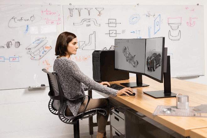Workstation HP Z2 Tower G4 está equipada para manejar proyectos 3D