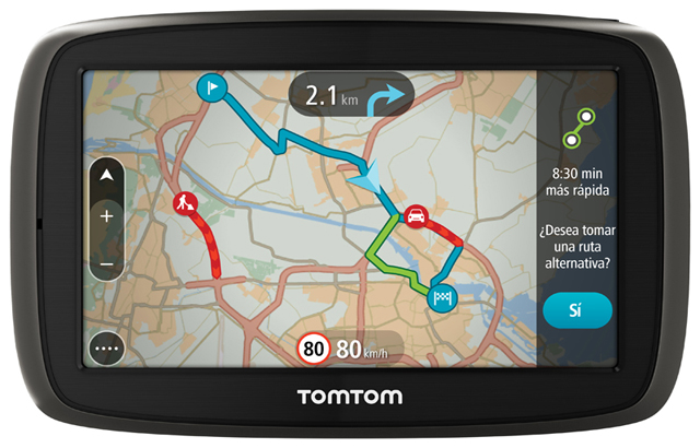 TomTom Traffic está disponible en toda la gama TomTom GO
