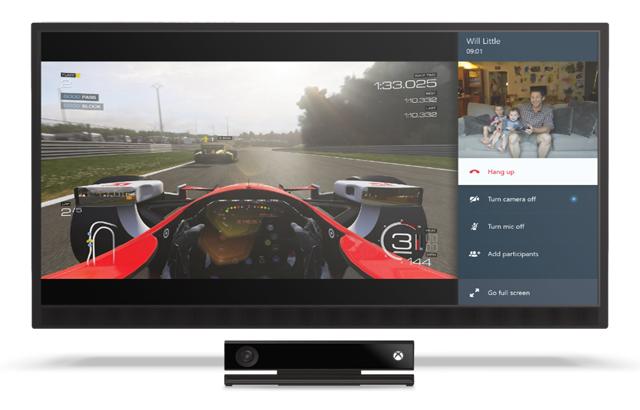Las 'llamadas Snap' de Skype llegan a Xbox One