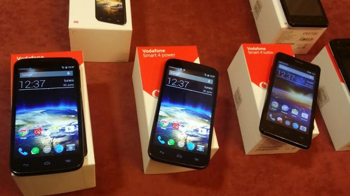 Vodafone Smart 4 power y Vodafone Smart 4 turbo