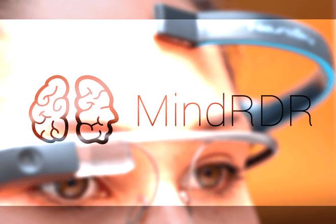 MindRDR para Google Glass …Y controla las gafas con la mente
